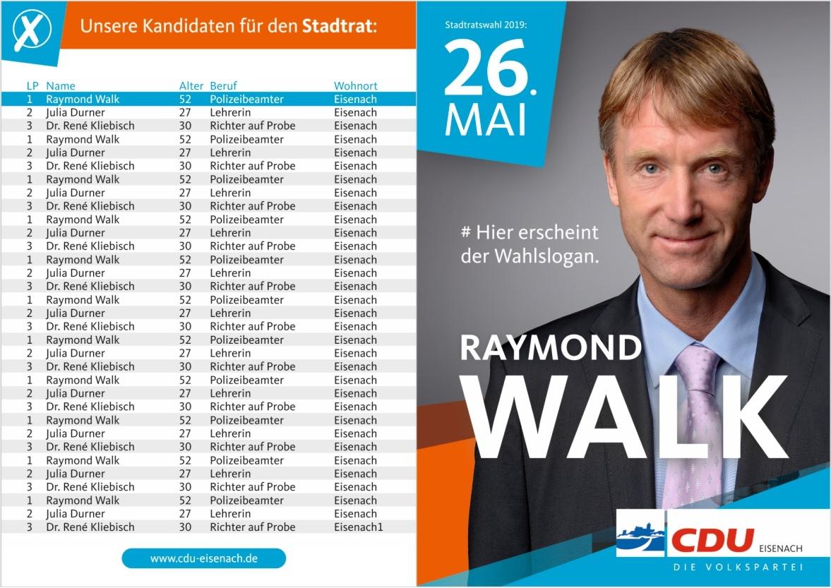 CDU Folder Vorderseite